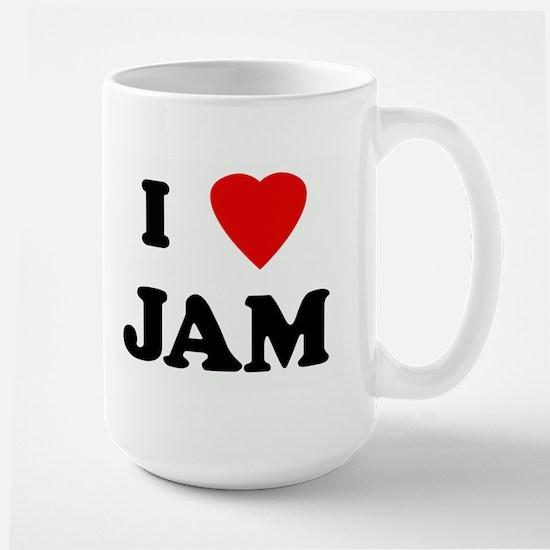 I Love JAM Large Mug