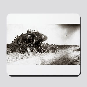 WWI Western Front Mousepad
