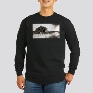 WWI Western Front Long Sleeve Dark T-Shirt