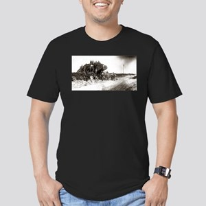 WWI Western Front Men's Fitted T-Shirt (dark)