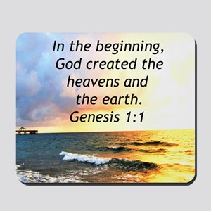 GENESIS 1:1 Mousepad