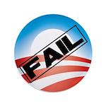 "Obama Fails 3.5"" Button"