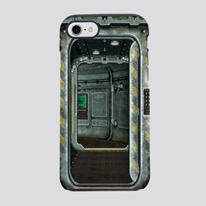 Space Ship Doorway iPhone 7 Tough Case