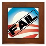 Obama Fails Framed Tile