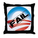 Obama Fails Throw Pillow