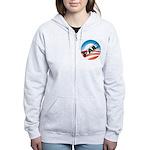 Obama Fails Women's Zip Hoodie