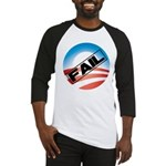 Obama Fails Baseball Jersey
