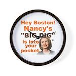 Pelosi's BIG DIG Wall Clock