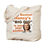 Pelosi's BIG DIG 2-Sided Tote Bag