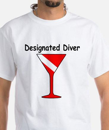 designatedDiver_cocktail_2000x2000 T-Shirt