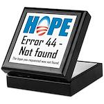 Error 44 - Not Found Keepsake Box