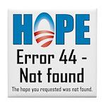 Error 44 - Not Found Tile Coaster