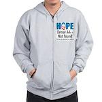 Error 44 - Not Found Zip Hoodie
