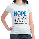 Error 44 - Not Found Jr. Ringer T-Shirt