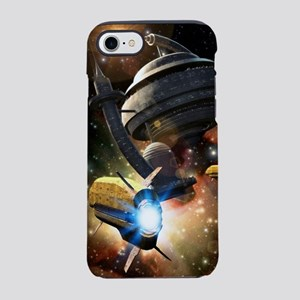 Space Station Fantasy iPhone 7 Tough Case