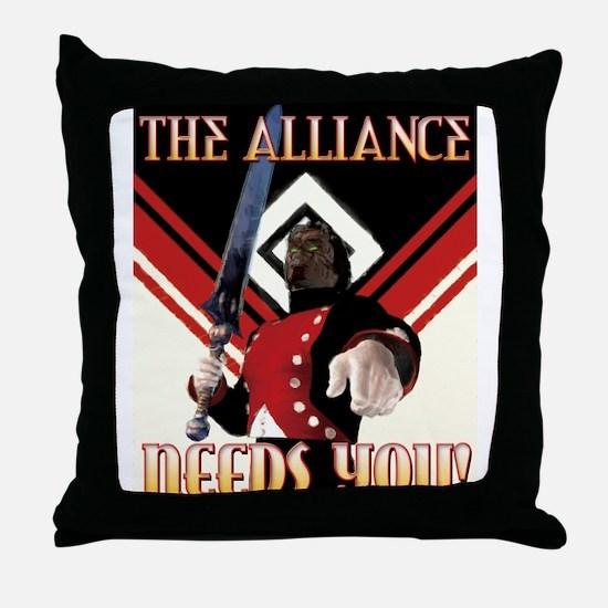 Cool Videogame Throw Pillow
