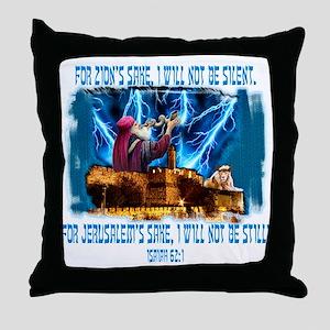 Zion's sake 1 Throw Pillow