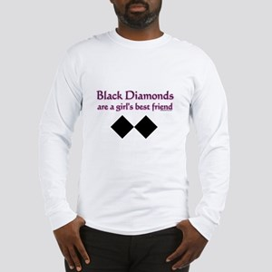 black diamonds copy Long Sleeve T-Shirt