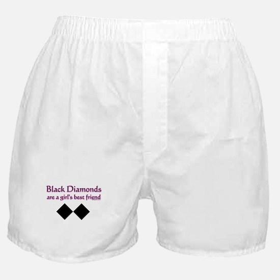 Cute Black diamond Boxer Shorts