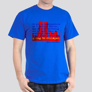 WTC is Going to Collapse Dark T-Shirt