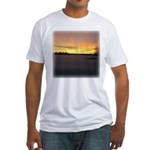 Sunset 0218 Fitted T-Shirt