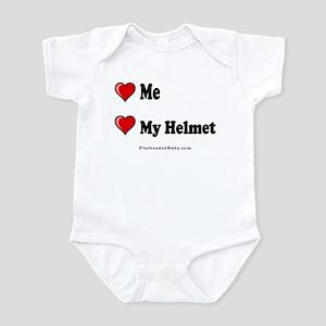 Love Me Love My Helmet Infant Bodysuit