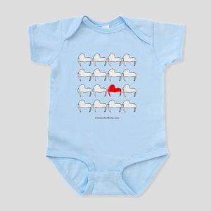 Helmets Design Infant Bodysuit