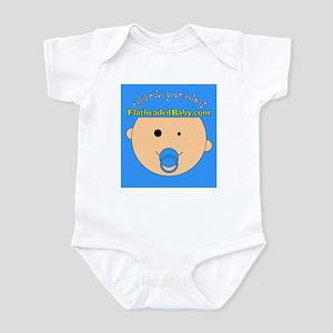 FlatheadedBaby.com Logo Infant Bodysuit