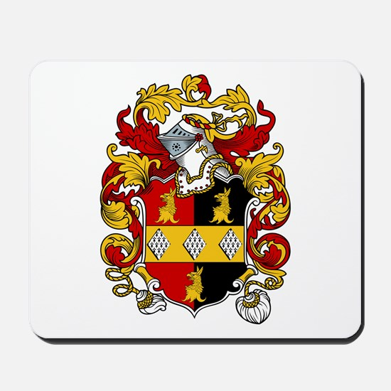 Brothers Coat of Arms Mousepad