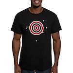 Target Practice Men's Fitted T-Shirt (dark)