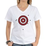 Target Practice Women's V-Neck T-Shirt