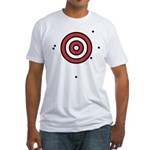 Target Practice Fitted T-Shirt