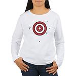 Target Practice Women's Long Sleeve T-Shirt