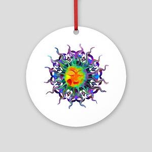 Chakra Sun Ornament (Round)