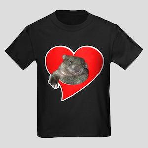 Cute Wombat Kids Dark T-Shirt