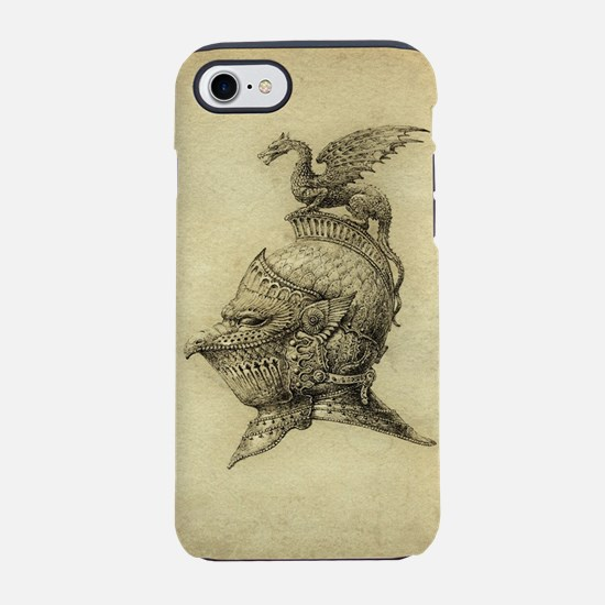 Knight Fantasy Grunge iPhone 7 Tough Case