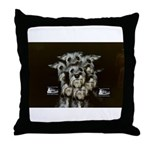 Railroad Kids Throw Pillow
