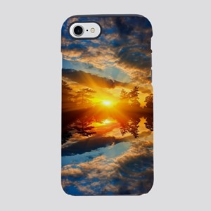 Sunset over Lake iPhone 7 Tough Case