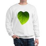 Green Heart Leaf Sweatshirt