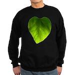 Green Heart Leaf Sweatshirt (dark)
