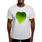 Green Heart Leaf Light T-Shirt