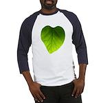 Green Heart Leaf Baseball Jersey