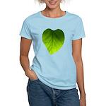 Green Heart Leaf Women's Light T-Shirt