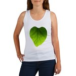 Green Heart Leaf Women's Tank Top