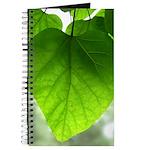 Green Heart Leaf Journal