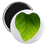 Green Heart Leaf Magnet