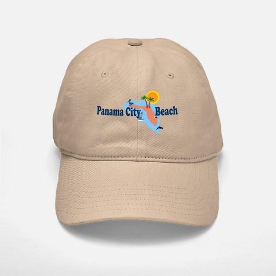 Panama City Beach FL Baseball Baseball Cap