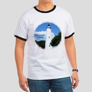 Ocracoke Lighthouse Ringer T