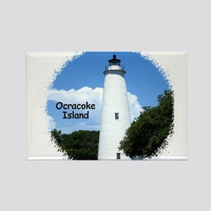 Ocracoke Lighthouse Rectangle Magnet