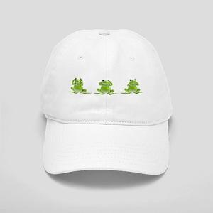 3 Frogs! Cap